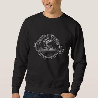 行った採取は黒いスエットシャツをカスタム設計します スウェットシャツ