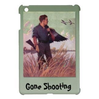 行った撃つこと、ハンターおよびある鳥 iPad MINIケース