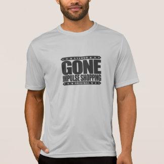行った衝動のショッピング-強迫的な購買の無秩序 Tシャツ