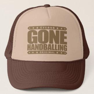 行ったHANDBALLING -私は野蛮なプロハンドボールプレーヤーです キャップ