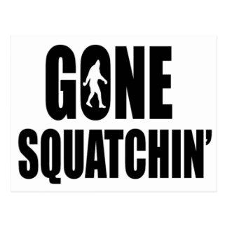 行ったSquatchin ポストカード
