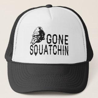 行ったSquatchin - Sunglass涼しい版B&W キャップ