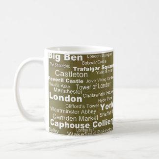 行先のコレクション: イギリス コーヒーマグカップ