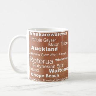 行先のコレクション: ニュージーランドのコーヒー・マグ コーヒーマグカップ