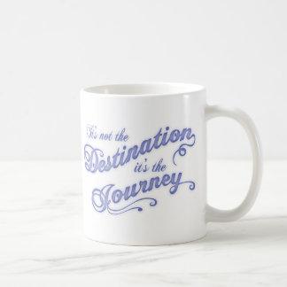 行先の旅行- txt コーヒーマグカップ