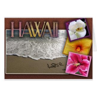 行先の結婚式-ハワイ カード