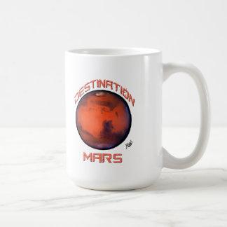 行先はマグを傷つけます コーヒーマグカップ