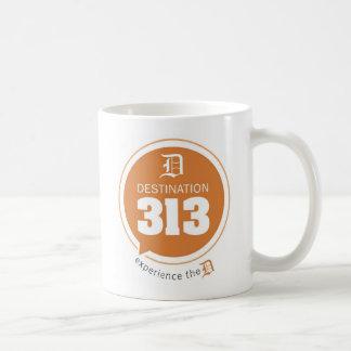 行先313のマグ コーヒーマグカップ