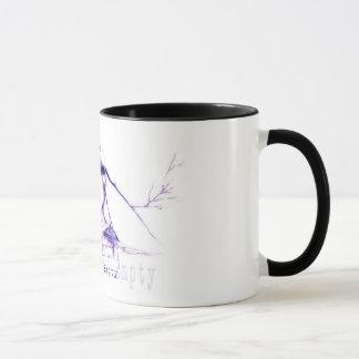 行先: 空のコーヒー・マグ マグカップ