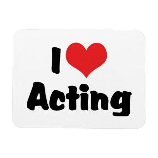 行動している私はハートを-舞台芸術の劇場愛します マグネット