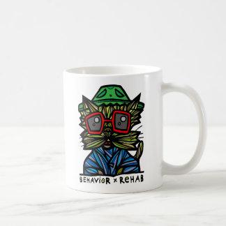 """""""行動リハビリテーション""""の11のozのクラシックのマグ コーヒーマグカップ"""
