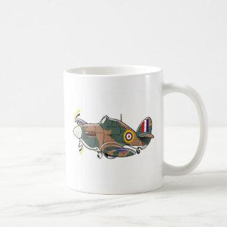 行商人のハリケーンの風刺漫画 コーヒーマグカップ