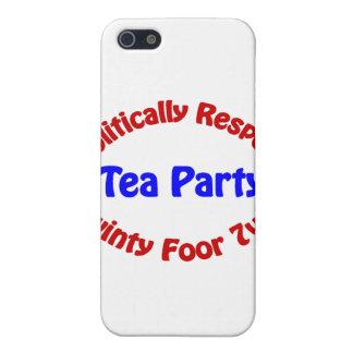 行政上点-お茶会 iPhone 5 ケース