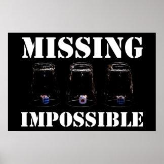 行方不明の不可能 ポスター