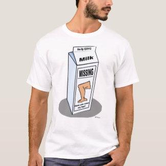 行方不明の足 Tシャツ