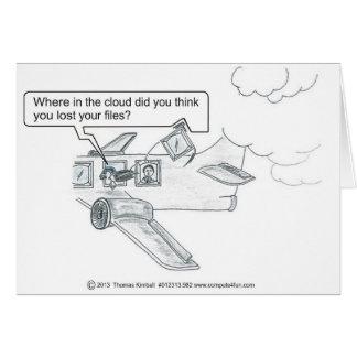行方不明の雲ファイル カード