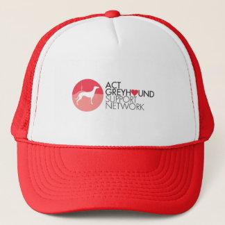 行為のグレイハウンドサポートネットワークのロゴの帽子 キャップ