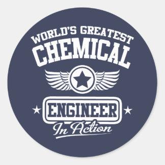 行為の世界ですばらしい化学エンジニア ラウンドシール