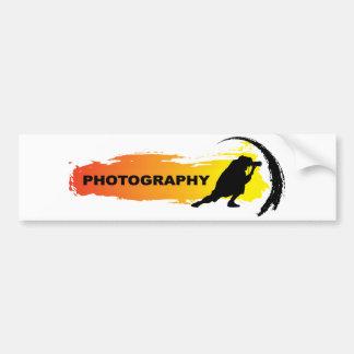 行為の写真撮影 バンパーステッカー