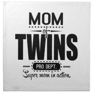行為の双生児のプロDept. Super Momのお母さん ナプキンクロス