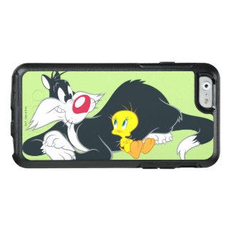 行為の姿勢14のTweety オッターボックスiPhone 6/6sケース