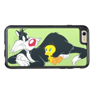行為の姿勢14のTweety オッターボックスiPhone 6/6s Plusケース