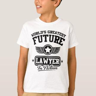 行為の未来の弁護士 Tシャツ
