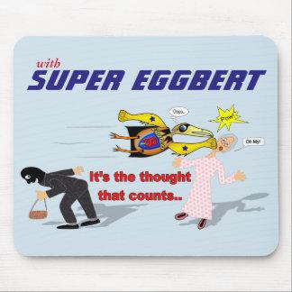 行為の極度のEggbert! マウスパッド