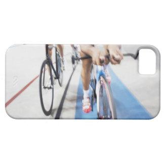 行為の追求のサイクリングのチーム iPhone SE/5/5s ケース