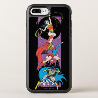 行為のSuperheroines オッターボックスシンメトリーiPhone 8 Plus/7 Plusケース