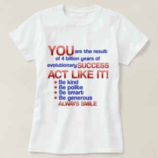 行為はそれを好みます! Tシャツ