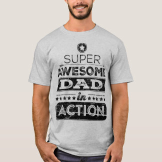 行為(ヒップスターのスタイル)の極度の素晴らしいパパ Tシャツ