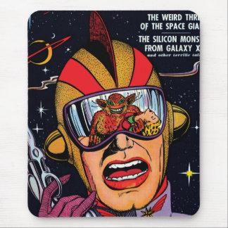 行為#2のヴィンテージのサイファイの漫画本カバーの間隔をあけて下さい マウスパッド