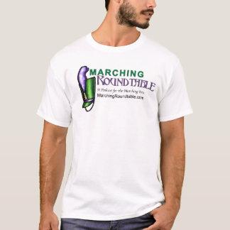 行進の円卓基本的なT Tシャツ
