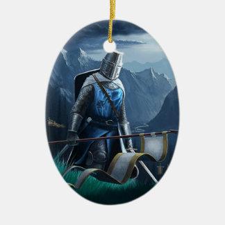 行進の騎士オーナメント セラミックオーナメント