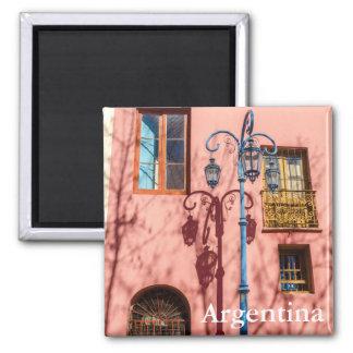 街灯およびピンクの壁 マグネット