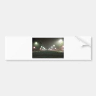 街灯の種類の近い遭遇 バンパーステッカー