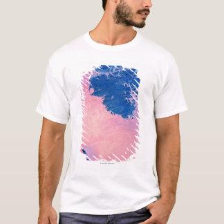 衛星眺め Tシャツ