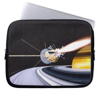 衛星軌道土星 ラップトップスリーブ