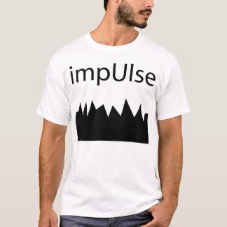 衝動の陰-正方形 Tシャツ