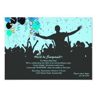 衝撃の驚きのパーティの招待状 カード