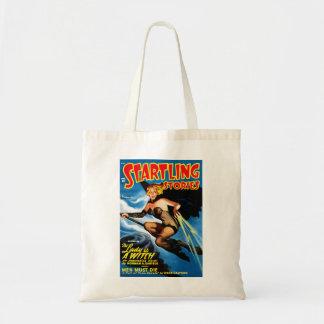 衝撃的な物語-女性は魔法使いのバッグです トートバッグ
