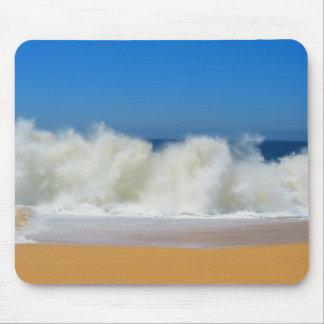 衝突の海洋波のマウスパッド マウスパッド
