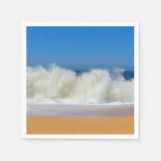 衝突の海洋波の標準的なカクテルのナプキン スタンダードカクテルナプキン