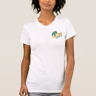 衝突ロゴ(レディースアメリカの服装) Tシャツ