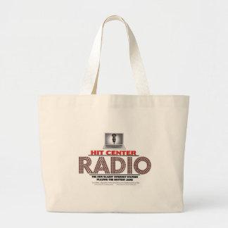 衝突中心の無線の運ぶバッグ ラージトートバッグ