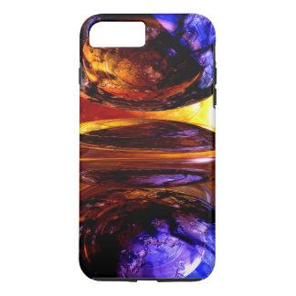 衝突力の抽象芸術 iPhone 8 PLUS/7 PLUSケース