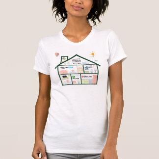 衝突家(レディースアメリカの服装) Tシャツ