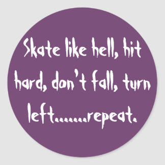 、衝突懸命は非常にスケートで滑りましたり、lefを回すために…下りません ラウンドシール