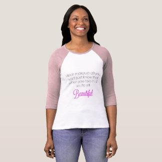 衣服の化粧すべて野球のTシャツがほしいと思います Tシャツ